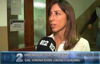 13 -04 -2018 VIRGINIA SIVORI CONSEJAL DE UNIDAD CIUDADANA EXPUSO SOBRE LA ORDENANZA Y SOSTUVO QUE SERIA UN ATROPELLO APROBARLA.