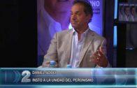 14 -01 -2019 DANIEL SCIOLI INSTO A LA UNIDAD DEL PERONISMO DURANTE LA CONFERENCIA DE LA PRESENTACIÓN DE SU LIBRO.