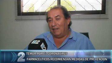 28 -02 -2020 CORONAVIRUS FARMACÉUTICOS  RECOMIENDAN MEDIDAS DE PREVENCIÓN.