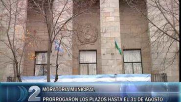 2 -07 -2020 MORATORIA MUNICIPAL PRORROGARON LOS PLAZOS HASTA EL 31 DE AGOSTO
