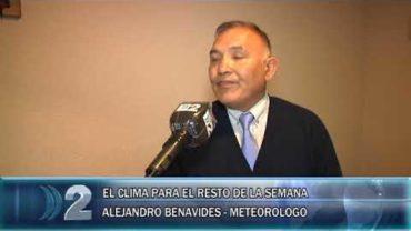 20 -10 -2020 EL METEORÓLOGO ALEJANDRO BENAVIDEZ NOS DA EL PRONOSTICO DEL TIEMPO PARA LOS PRÓXIMOS DÍAS.