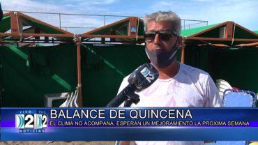 15 -1 -2020 BALANCE DE LA PRIMERA QUINCENA.