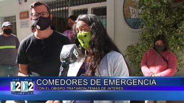 15 -04 -2021 COMEDORES DE EMERGENCIAS SE REUNIERON CON EL OBISPO PARA TRATAR DIFERENTES TEMAS.