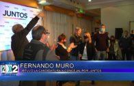13-09-2021 FERNANDO MURO OBTUVO LA CANDIDATURA A CONCEJAL POR JUNTOS POR EL CAMBIO.